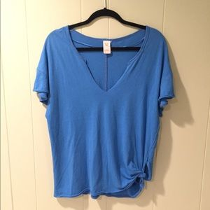 NWT Free People T-shirt with tie detail